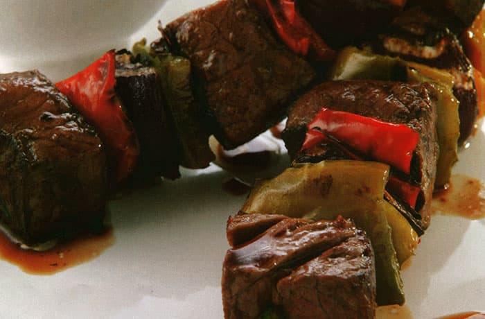 brochettes de carne