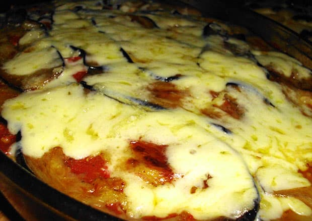 Lasagna de Berenjenas light