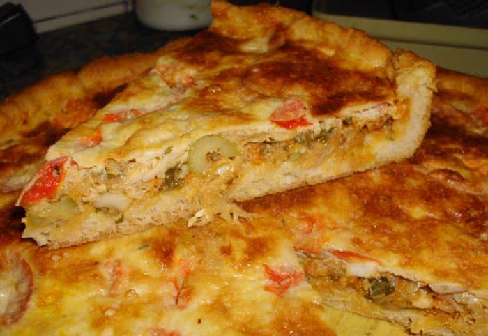 Tarta de Bacalao