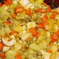 Ensalada de Apio Manzana y Palmitos