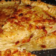 Tarta de Cebollas y Tomates Secos