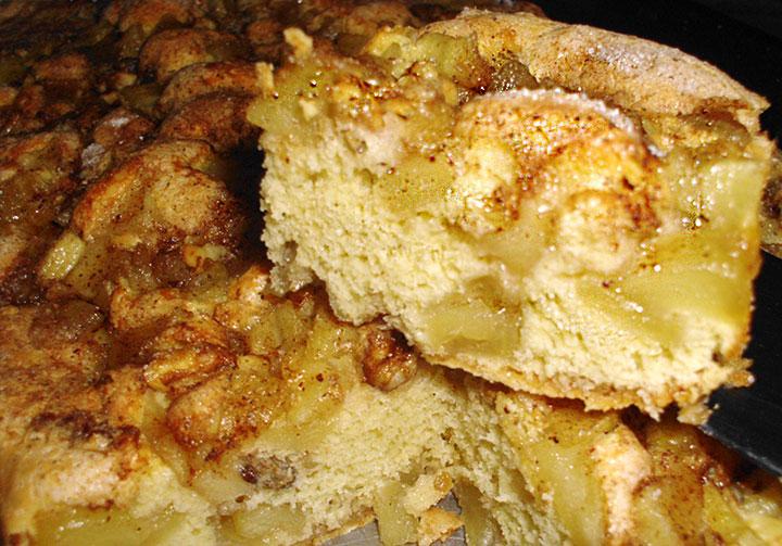 Torta Rústica de Manzana sin manteca