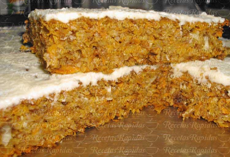 Pastel De Zanahoria Con Nueces Carrot Cake Version Saludable Acá en eeuu es una de las pocas tortas que me gustan y puedo comprar y disfrutar. recetas rapidas